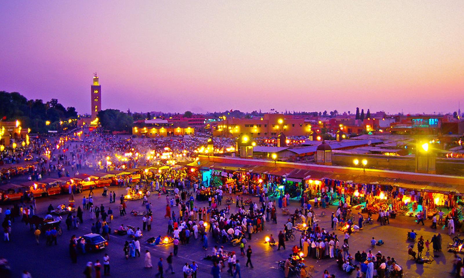 Plasman artesanos y niños marroquíes su visión de México